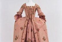 1760-1769 women's fashion