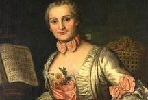 1740-1749 portraits of women