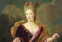 1720-1729 portraits of women