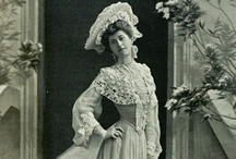 """1900's fashion in photographs / original photographs between the years 1900-1909, showcasing how fashion and style really looked like and what people in reality wore and how - please note that this board is for female fashion, the photographs portraying men are on my other board titled """"1900's fashion: men""""."""