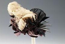 1880's headwear / 1880's women's fashion in headgear: hats, bonnets, tiaras, headdresses
