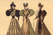 1890's fashion plates