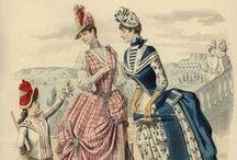 1880's fashion plates