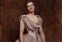 1880's portrait paintings / by Jaana Seppälä