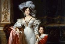 1820's portraits of women