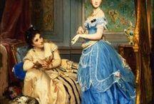 1860's portrait paintings