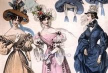 1830's fashion plates