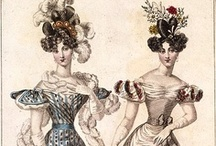 1820-1829 fashion plates for women