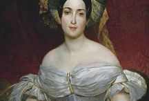 1830's portrait paintings