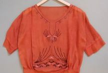 1920's blouses, tunics & tops