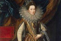 1600-1609 portraits of women