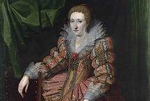 1610-1619 portraits of women