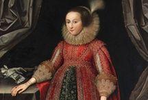 1620-1629 portraits of women