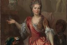1690-1699 portraits of women