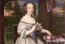 1680-1689 portraits of women