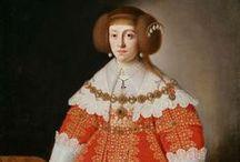 1640-1649 portraits of women