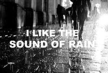 Rain for me...