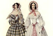 1840's fashion plates