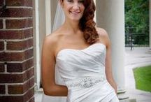 Bridal Hairstyle- down to one side / Bridal hairstyles- down to one side