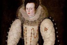 1590-1599 portraits of women