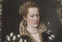1580-1589 portraits of women