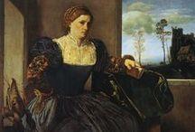 1520-1529 portraits of women