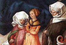 1500-1509 portraits of women