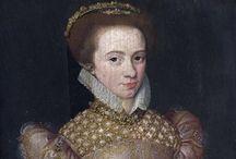 1570-1579 portraits of women