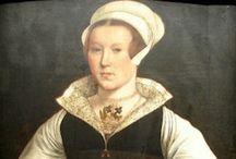 1550-1559 portraits of women