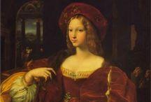 1510-1519 portraits of women