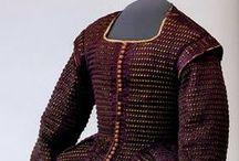 1600-1699 women's extant garments