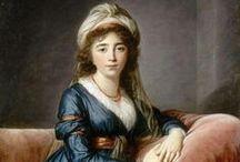 1790-1799 portraits of women