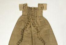 1700-1799 children's clothing