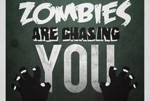 Run like zombies are chasing you / Running motivation