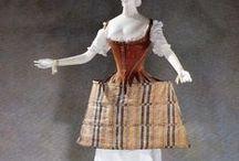 1700-1799 stays & petticoats
