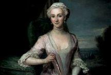 1730-1739 portraits of women
