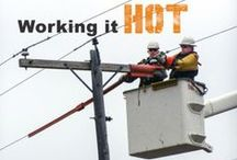 Lineworkers / Information, humor and ideas for the families that support them.