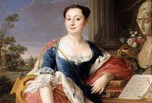 1750-1759 portraits of women