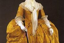 1780-1789 women's fashion