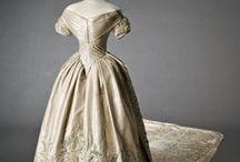 1850's wedding fashions