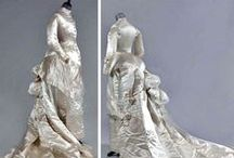 1870's wedding fashions