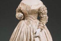 1840's wedding fashions