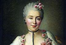 1760-1769 portraits of women