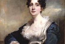 1810-1819 portraits of women