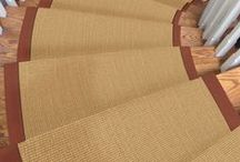 Sisal / Natural/wool carpet.