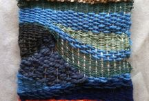 Stitching, weaving