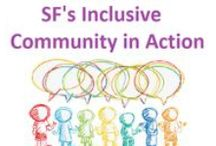 San Francisco's Inclusive Community of Practice in Action! / Making inclusion work means creating and adapting materials to support it. Check out how our San Francisco inclusive community make's it work!