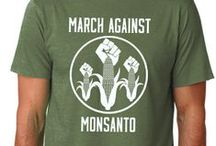 March Against Monsanto Unisex T-Shirts
