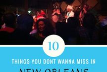 Travel | New Orleans / Things To Do In New Orleans, LA and where to stay when you're too tired to leave!