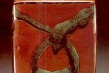 Shoji Hamada 濱田 庄司 / Shoji Hamada was active/lived in Japan.  Shoji Hamada is known for modern pottery.